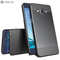 Obliq Slim Meta Samsung Galaxy A5 2015 Hülle in Titanium Space Grey