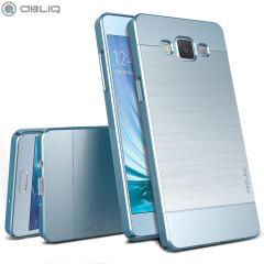 Obliq Slim Meta Samsung Galaxy A5 Case - Lucht Blauw