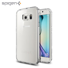 Spigen Ultra Hybrid Samsung Galaxy S6 Edge Case - Crystal Clear