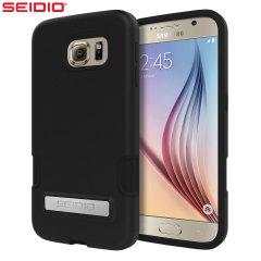 Seidio DILEX Pro Samsung Galaxy S6 Case with Kickstand - Black