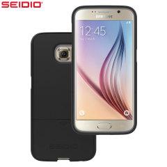 Seidio SURFACE Samsung Galaxy S6 Case - Black