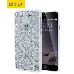 Olixar Spitzverziert iPhone 6S / 6 Lace Case in Weiß