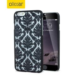 Olixar Spitzverziert iPhone 6 Lace Case in Schwarz
