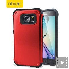 Olixar ArmourLite Samsung Galaxy S6 Skal - Röd