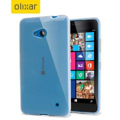 Custodia FlexiShield per Microsoft Lumia 640 - Ghiaccio