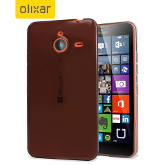 Custodia FlexiShield per Microsoft Lumia 640 XL - Fumé