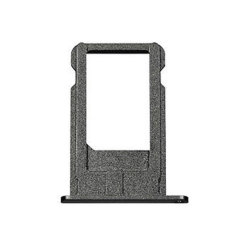 An official space grey Apple iPhone 6 SIM Tray. Replaces your existing SIM Tray when necessary with the exact same part.