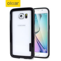 Olixar FlexFrame Samsung Galaxy S6 Bumper Hülle in Schwarz