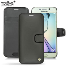 Noreve Tradition B Samsung Galaxy S6 Edge Leather Case - Black