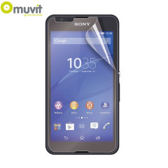 Avoid scuffs and scratches on your Sony Xperia E4G with this 2 pack of matte and glossy screen protectors by Muvit, designed to reduce glare and fingerprints.
