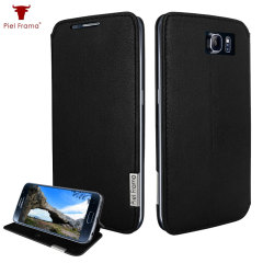 Piel Frama FramaSlim Samsung Galaxy S6 Leather Case - Black