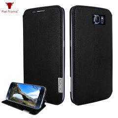 Piel Frama FramaSlim Samsung Galaxy S6 Tasche in Schwarz