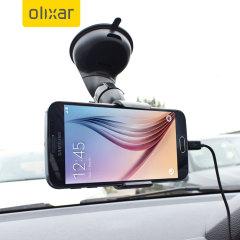 Olixar DriveTime Samsung Galaxy S6 Kfz Halter & Lade Pack