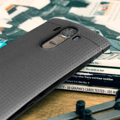 FlexiShield Dot Case LG G4 Hülle in Schwarz