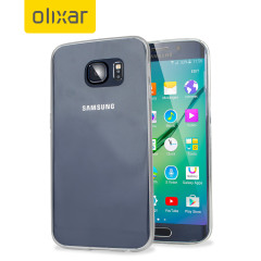 Custodia FlexiShield Ultra-Thin per Galaxy S6 Edge - Trasparente