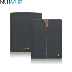 NueVue Cotton Twill iPad Air / Air 2 Cleaning Case - Black