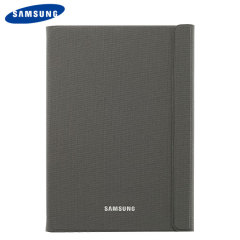 Keep your Samsung Galaxy Tab A 9.7 protected from damage with this official dark titanium Samsung book cover with integrated multi-level stand.
