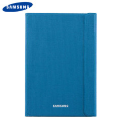 Keep your Samsung Galaxy Tab A 9.7 protected from damage with this official blue Samsung book cover with integrated multi-level stand.