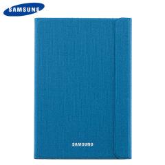 Mantenga su Samsung Galaxy Tab A 9.7 protegida contra daños con esta funda oficial estilo libro de Samsung con soporte integrado.
