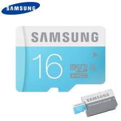 Samsung 16GB MicroSD HC Card with SD Adapter - Class 6