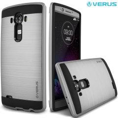 Custodia Verus Verge per LG G4 - Argento satinato