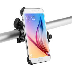 Ideal for navigation and listening to your music, this bicycle mount kit offers an easy to install and secure mounting solution for your Samsung Galaxy S6 on a bike.