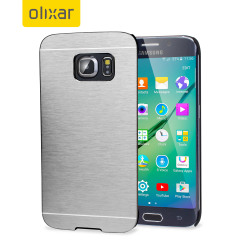 This premium and sophisticated Aluminium series slim, shell case from Olixar in silver offers excellent protection for the Samsung Galaxy S6 Edge, whilst maintaining it's sleek exterior.