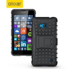 ArmourDillo Microsoft Lumia 640 bescherm case - Zwart