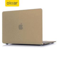 ToughGuard MacBook 12 Zoll Hülle Hard Case in Champagne Gold