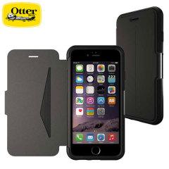 Mit der ausgeklügelten leichten braunen Tasche aus echtem Leder bietet OtterBox perfekten Schutz für Ihr iPhone 6S / 6 sowie Schlitze für Ihre Karten, Bargeld und Dokumente.