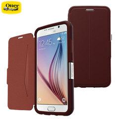 Housse Portefeuille OtterBox Strada Series Samsung Galaxy S6 - Marron