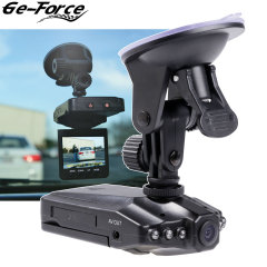 Automatically record video on the move with the Ge-Force in-car dashboard camera. Packed with an impressive 2.5 inch TFT display and 6 IR sensors for night recording, the Ge-Force is sure to keep you covered on your travels.