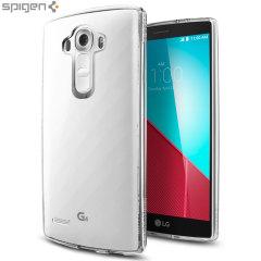 Custodia Ultra Hybrid Spigen per LG G4 - 100% Trasparente