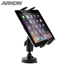 Arkon Robust Series Universal Sticky Suction Windshield Or Dashboard Tablet Mount