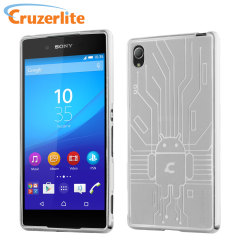 Keep your Sony Xperia Z3+ protected from damage with this Android-circuitry inspired, durable clear coloured TPU case by Cruzerlite.