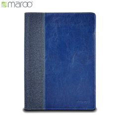 Keep your Microsoft Surface 3 protected from damage with this sophisticated and durable real leather folio case by Maroo in woodland blue that doubles as a tablet stand.