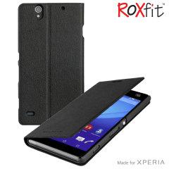 Roxfit Sony Xperia C4 Slimline Book Case - Black