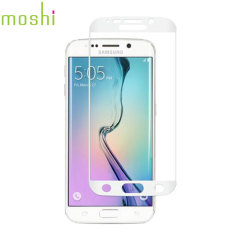 Moshi iVisor AG Samsung Galaxy S6 Edge Screen Protector - Wit