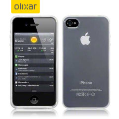 FlexiShield Gel Case voor iPhone 4S / 4 - Frost Wit