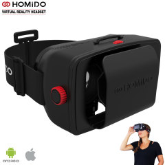 Homido Virtual Reality Headset für iOS & Android Smartphones