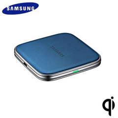 Official Samsung Galaxy S5 Qi Wireless Charging Pad - Blue