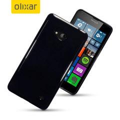 FlexiShield Microsoft Lumia 640 Gel Hülle in Schwarz
