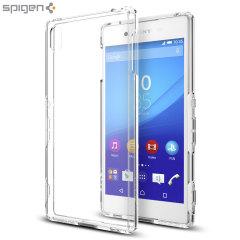 Custodia Ultra Hybrid Spigen per Sony Xperia Z3+ - Trasparente