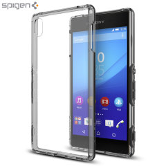 Custodia Ultra Hybrid Spigen per Sony Xperia Z3+ - Crystal Space