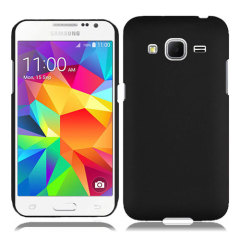 ToughGuard Samsung Galaxy Core Prime Rubberised Case - Black