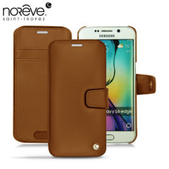 Noreve Tradition B Samsung Galaxy S6 Edge Leather Case - Marron
