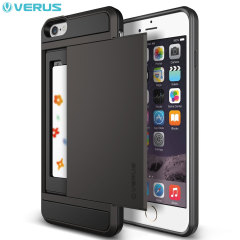 Verus Damda Slide iPhone 6S Plus / 6 Plus Case - Dark Silver