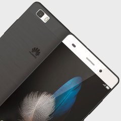 FlexiShield Case Huawei P8 Lite Hülle in Smoke Black