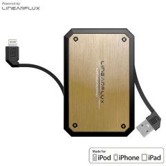 Batterie externe Linearflux LithiumCard Pro Lightning - Or