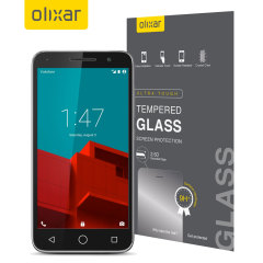 Olixar Tempered Glass Vodafone Smart Prime 6 Displayschutz